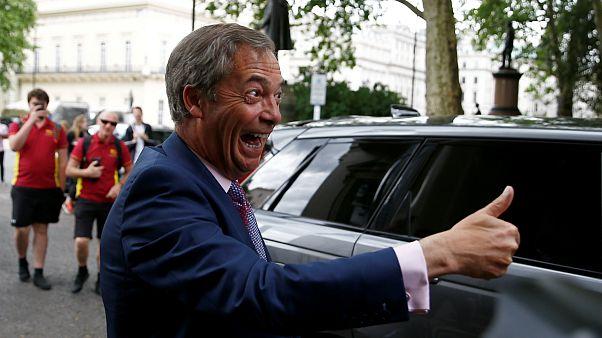 نایجل فاراژ، رهبر حزب برکسیت بریتانیا با دونالد ترامپ دیدار کرد
