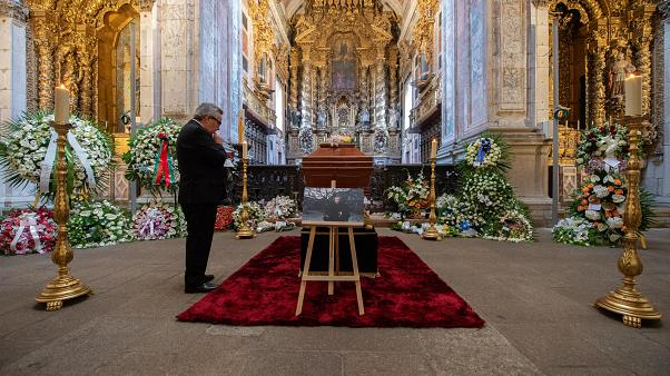 Cerimónias fúnebres da escritora Agustina Bessa-Luis, no Porto