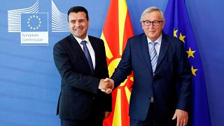 Juncker: Bedenken gegen EU-Beitritt Nordmazedoniens aufgeben