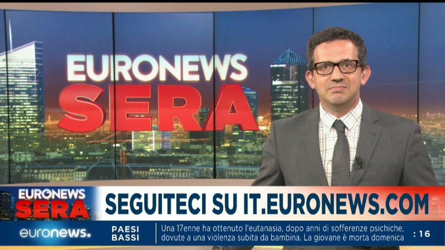 Euronews Sera - TG europeo, edizione di martedì 4 giugno