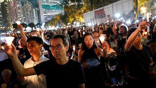 Hong Kong se souvient, 30 ans après Tiananmen