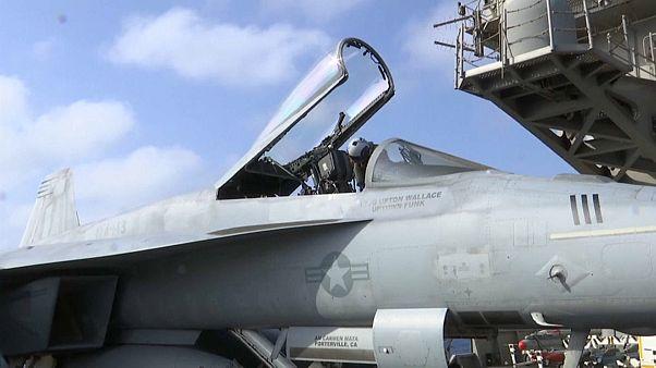 Die USS Abraham Lincoln ist am Persischen Golf