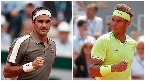Tenisin efsaneleri tekrar karşı karşıya: Fransa Açık'ta Federer Nadal eşleşmesi
