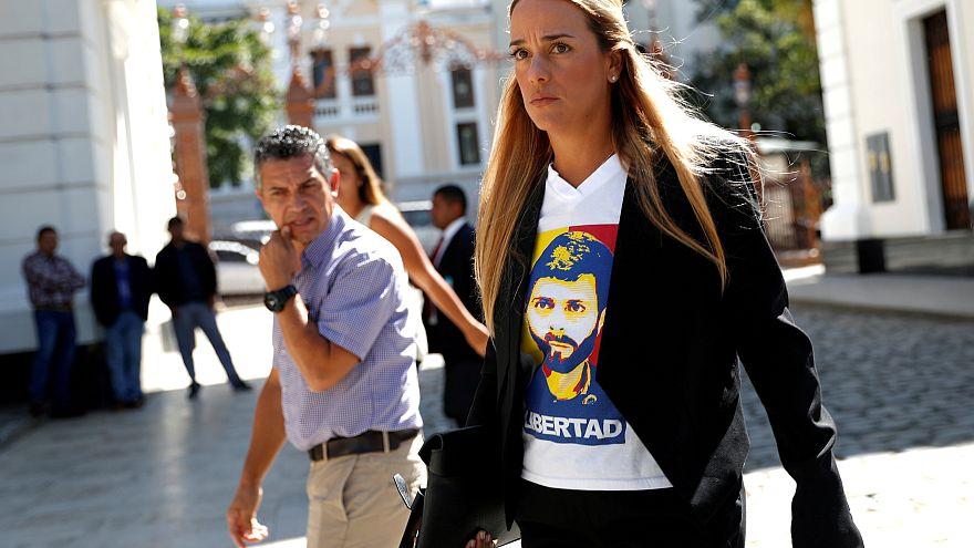Lilian Tintori anuncia una gira tras llegar a España
