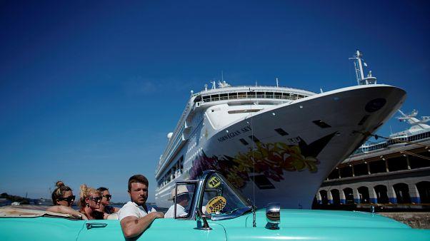 EEUU golpea a Cuba con la prohibición de los cruceros