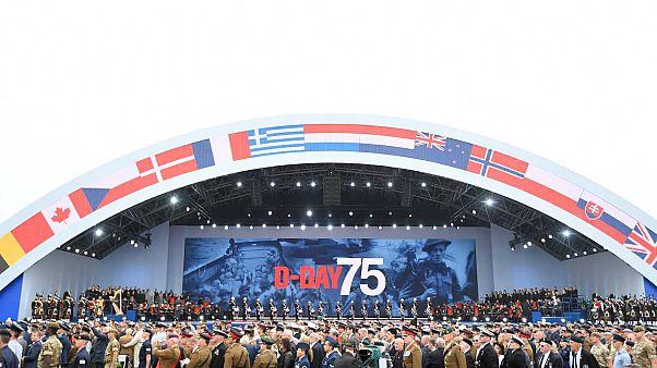 75e D-Day : première cérémonie internationale à Portsmouth