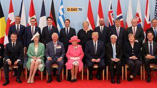 """França e Reino Unido revivem """"Dia D"""""""