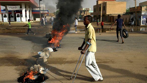 Tüntetés Kartúmban