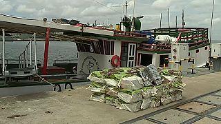شاهد: البرتغال تصادر طنا من الكوكايين على متن سفينة برازيلية