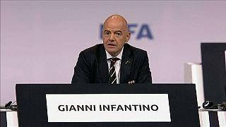 إعادة انتخاب جياني إنفانتينو رئيسا للاتحاد الدولي لكرة القدم حتى 2023