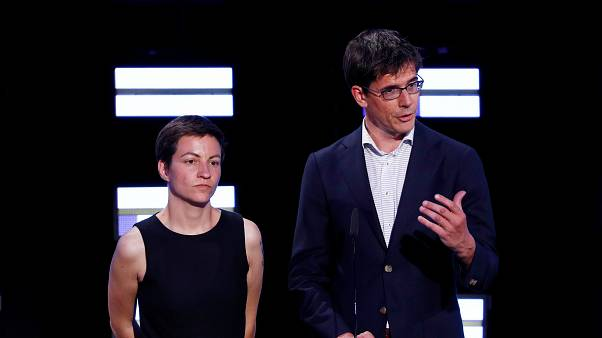 Ska Keller e Bas Heickout são candidatos principais dos Verdes