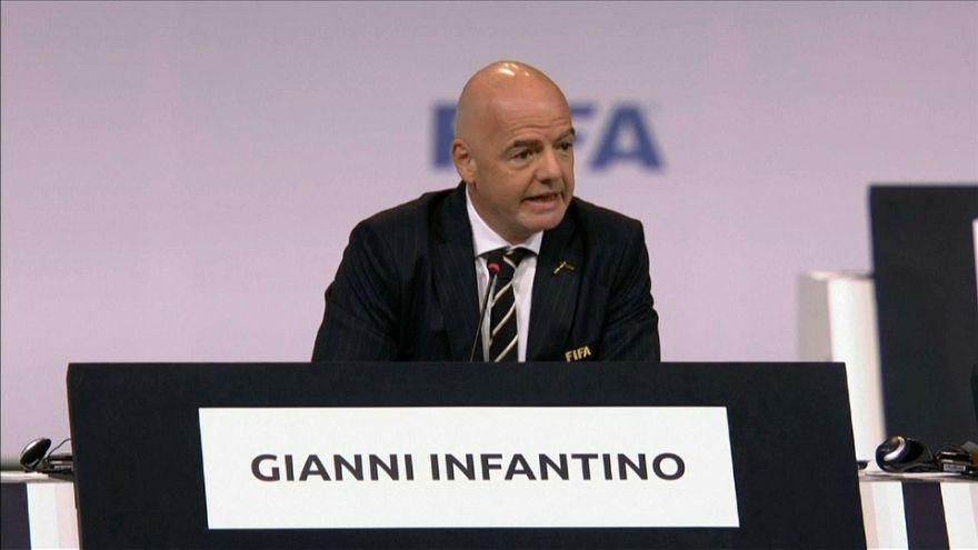 FIFA : réélection de Gianni Infantino