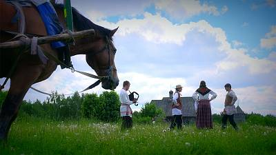 Step back in time and experience a Middle Ages village in Belarus