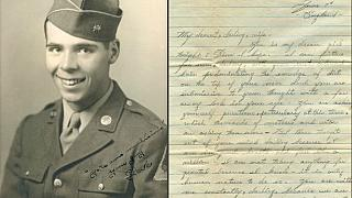 D-Day soldier's letters to wife reveal endurance of love during war