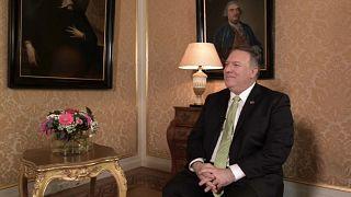 Euronews-Interview mit US-Außenminister Mike Pompeo