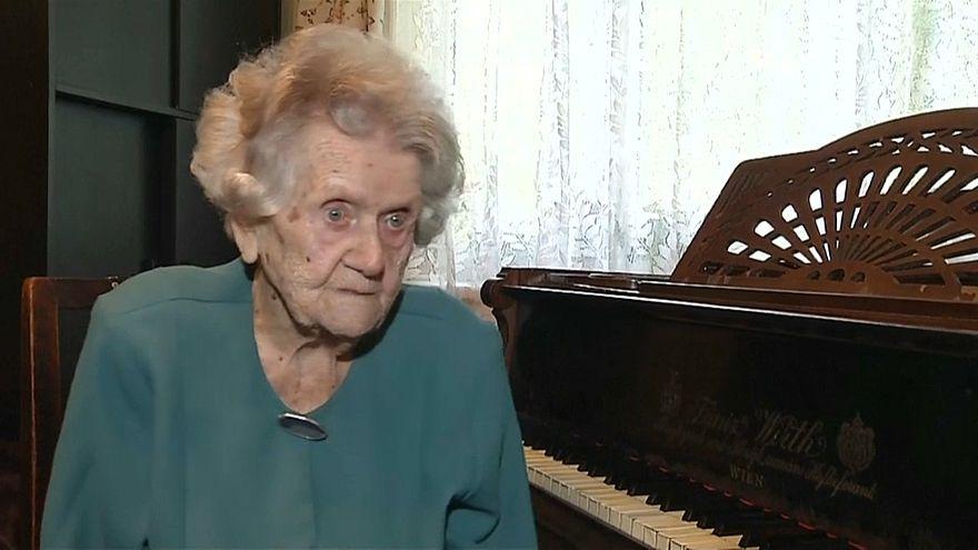 108-летняя пианистка из Кракова