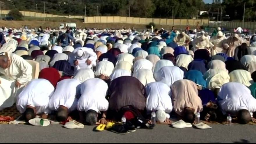 Los musulmanes celebran el fin del Ramadán en España