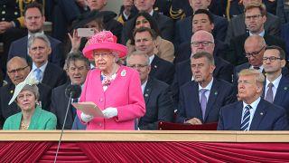 "Invasion in der Normandie: Elizabeth II. sagt ""danke!"""