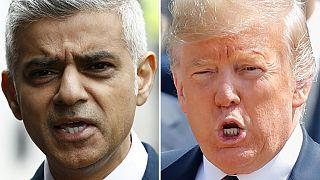 """Trump'ın """"tam bir ezik"""" dediği Londra Belediye Başkanı: Trump 11 yaşındaki çocuk gibi davranıyor"""