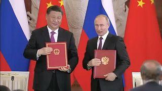 Russland und China betonen enge Partnerschaft