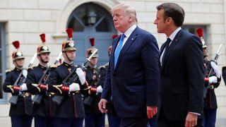 Macron appelliert: Amerika ist groß, wenn es für die Freiheit kämpft