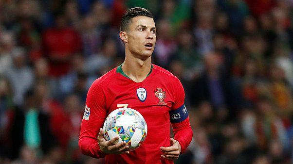 Mais uma bola para Ronaldo