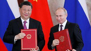 روسای جمهوری چین و روسیه: با یکجانبهگرایی مبارزه میکنیم