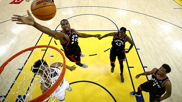 Finales NBA: Raptors 2-1 Warriors