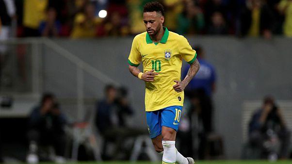 نیمار، ستاره تیم ملی برزیل