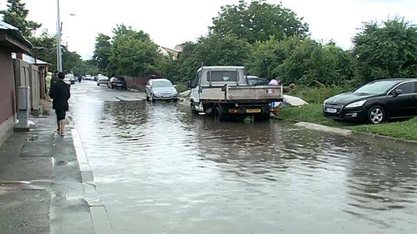 Überschwemmungen in Rumänien