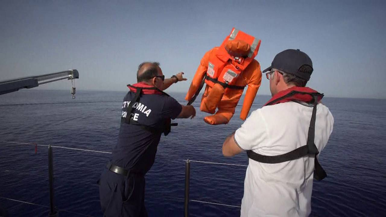 Navios de cruzeiro usam tecnologia para salvar vidas