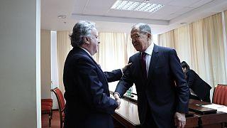 Ρωσία: Συνάντηση Κατρούγκαλου - Λαβρόφ