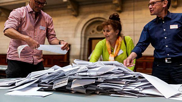 فرز الأصوات في الانتخابات البرلمانية الدنماركية