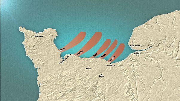 D-Day, la mappa interattiva: come è stato pianificato lo sbarco in Normandia