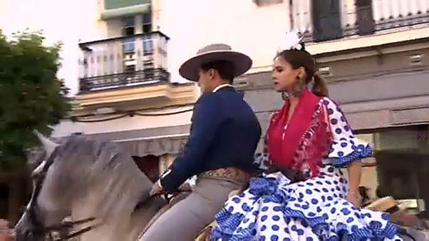 Fiesta y fervor en la peregrinación al Rocío