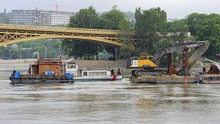Трагедия на Дунае: идентификация тел затруднена