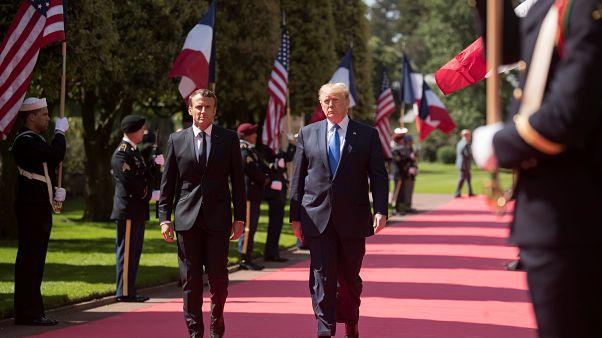 Normandiya Çıkarması'nın 75. yıl dönümü: Trump ve Macron'dan Batı ittifakı mesajı