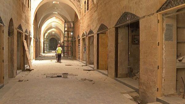 مرمت سوق السقطیه؛ بازار تاریخی حلب