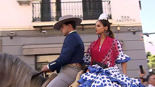 Flamenco, Pferde, Pfingsten: Wallfahrt nach El Rocío
