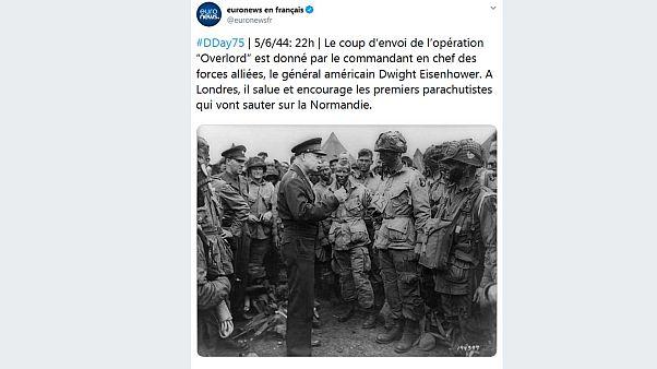 75e D-Day : revivez le Débarquement en temps historique réel