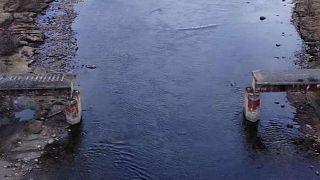 Egy egész hidat tüntettek el fémtolvajok Oroszországban