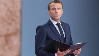 D-Day 75th anniversary: Emmanuel Macron reads last letter of French Resistance fighter