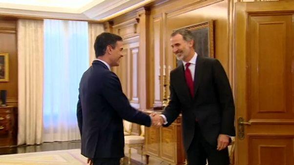 El Rey de España propone al socialista Pedro Sanchez como candidato para presidir el Gobierno