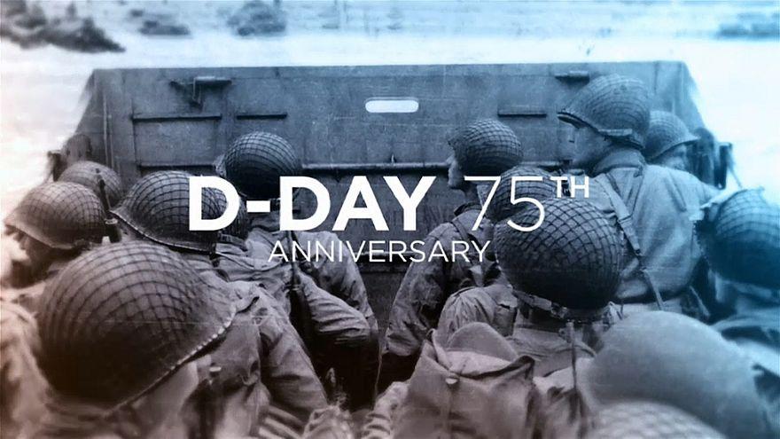 """Emissão especial dos 75 anos do """"Dia D"""""""