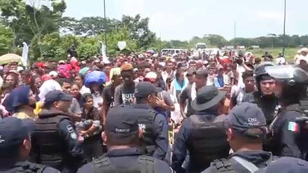 México reforça segurança na fronteira com a Guatemala