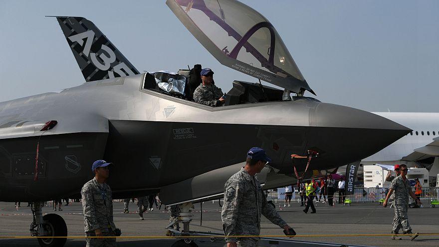 """مقاتلة أميركية من نوع """"إف-35"""""""