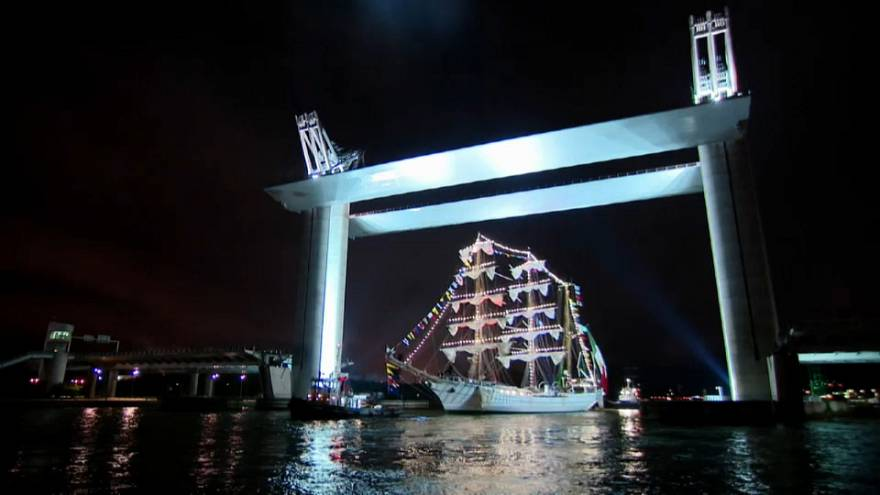 Rouen acoge la mayor muestra de barcos del mundo