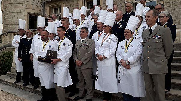 França: Chefes militares em concurso gourmet