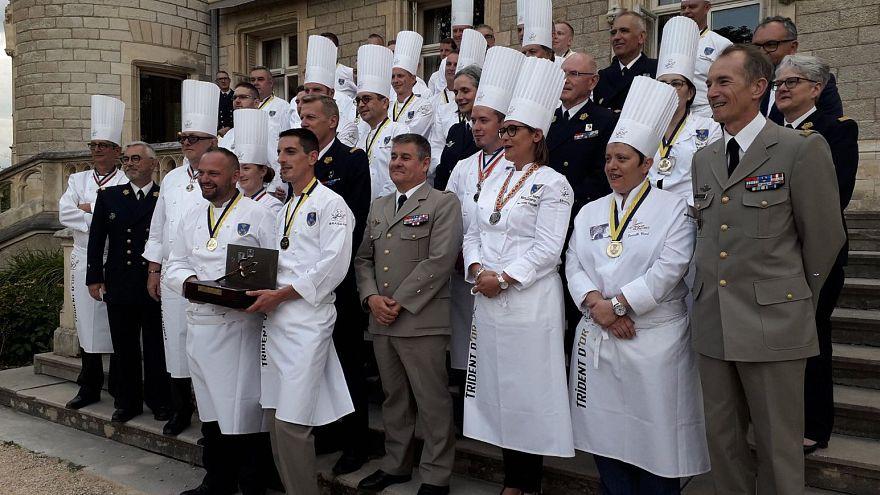 مسابقه آشپزان ارتش فرانسه برای «چنگال طلایی»