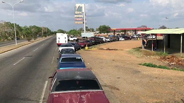 Kein Benzin mehr im Öl-Land Venezuela